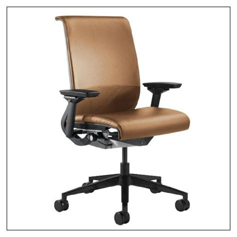 steelcase think chair r leather color camel reviews