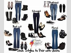 Choosing the Right Shoe to Pair with Your Jeans Style