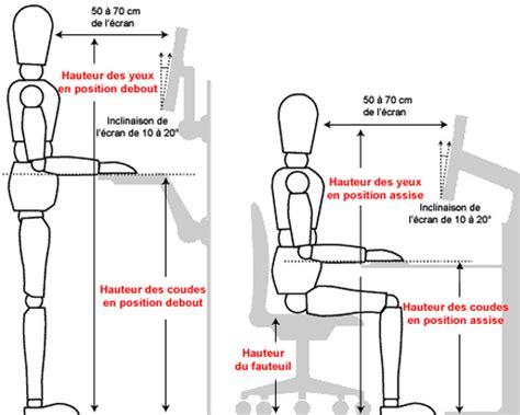 position ergonomique au bureau position ergonomique bureau 28 images si 232 ges de