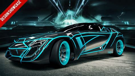 forza  design showcase tron user youtube