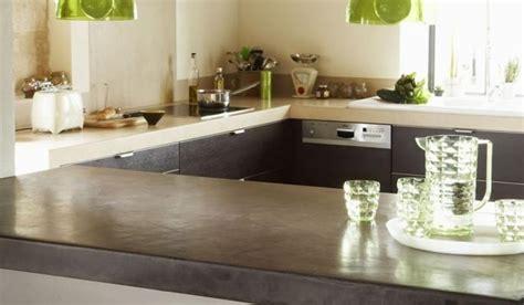 beton ciré cuisine plan travail cuisine en béton ciré le choix de l 39 originalité