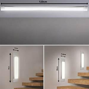 Design led wand lampen decken leuchten treppenhaus stufen for Lampen in der wand