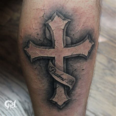 Dark Age Tattoo Studio Tattoos Capone Psalms 23