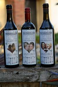 will you be my main bitch wedding wine labels bridesmaid With custom wine bottle labels for bridesmaids