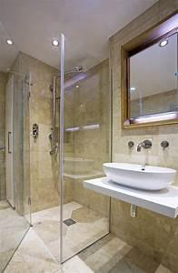 Neue Dusche Einbauen : bodenebene dusche einbauen so klappt der einbau ~ Michelbontemps.com Haus und Dekorationen