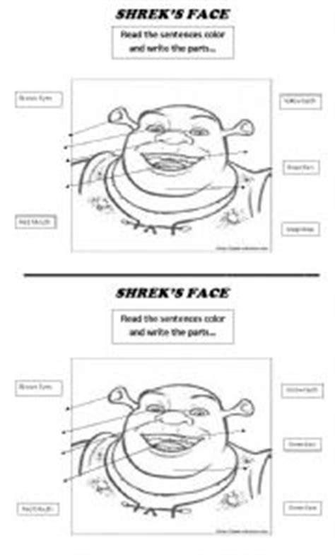 teaching worksheets shrek