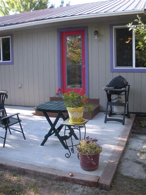 small cement patio ideas durango colorado landscaping companies gardenhart landscaping and design tips