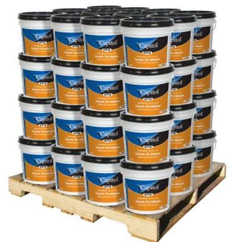 mastic tile adhesive home depot capitol 3 5 gal ceramic tile adhesive and mastic 48 pail