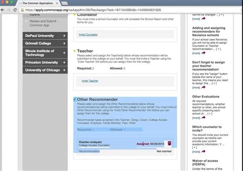 common application school report form 2015 completing the common app 2015 recommenders counselor
