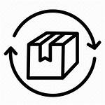 Return Policy Icon Package Delivery Logistic Returns
