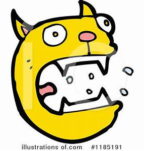 Cat Face Clipart #1185191 - Illustration by lineartestpilot
