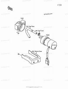 Kawasaki Motorcycle 1996 Oem Parts Diagram For Fuel Pump