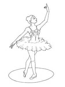 Coloriage Danseuse Tutu