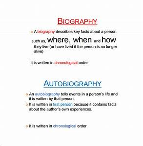 Outline Autobiography 24 Autobiography Outline Templates Samples Doc Pdf