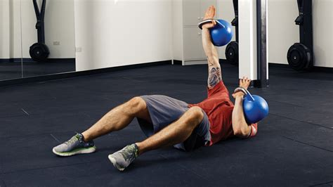 kettlebell abs workout steel workouts coachmag