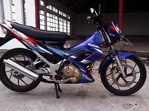 Jual Bracket Kuping Lampu Depan Suzuki Satria Fu 150 2005