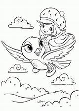 Strawberry Shortcake Coloring Pages Printable sketch template