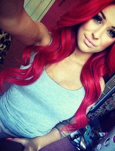 Top 25 Best Bright Red Hairstyles Ideas On Pinterest