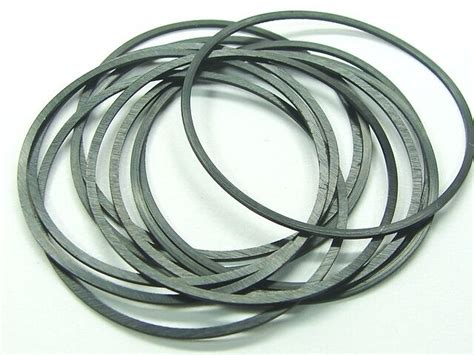 Set Of 5 Pieces Seiko Rubber O-ring Backcase Flat Gaskets