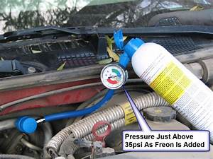 How To Add Freon To A 1999 Pontiac Grand Prix 3800