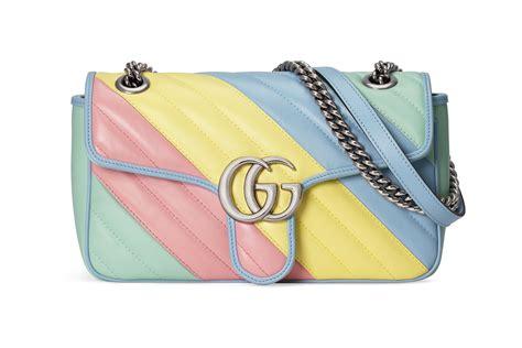 gucci pre fall gg marmont pastel handbag