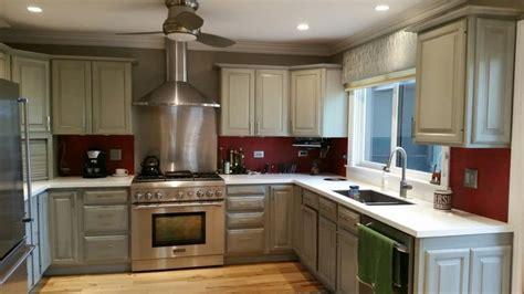 painted oak kitchen cabinets no more golden oak cabinets dfranco finishes st 3997