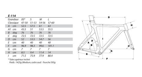 choix taille cadre argon e114 onlinetri