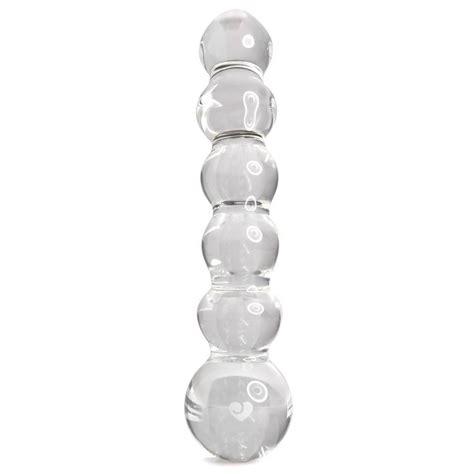 Lovehoney Beaded Sensual Glass Dildo 8 Inch Glass Dildos