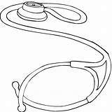 Medical Coloring Pages Stethoscope Sheets Doctor Template Colouring sketch template