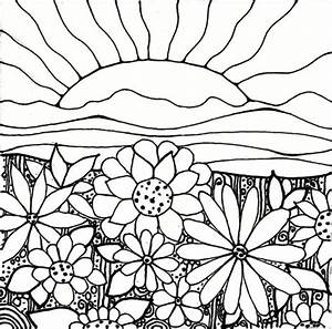 Garden Coloring Pages Printable - Coloring Home
