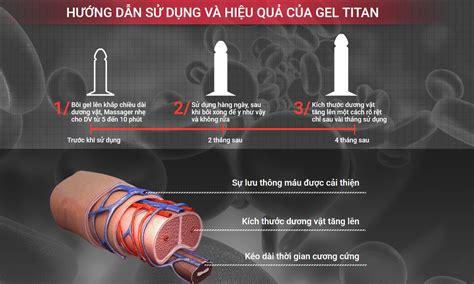 hướng dẫn cách sử dụng gel titan nga tăng kích thước
