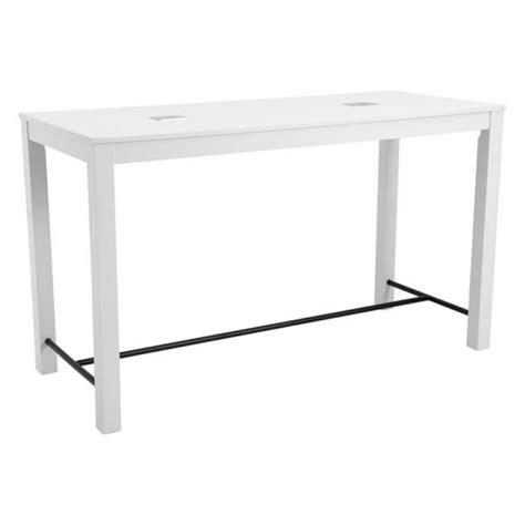 modern bar height table modern bar tables olly white bar table eurway
