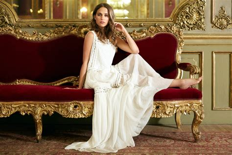 How To Remove Red Wine From Sofa by Alicia Vikander Photoshoot By Lorenzo Agius