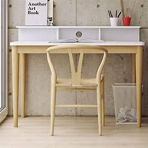 Bureau Scandinave Blanc : bureaux meubles et rangements temahome bureau xira ch ne avec plateau blanc inside75 ~ Teatrodelosmanantiales.com Idées de Décoration