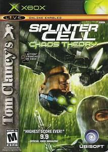 Tom Clancy U0026 39 S Splinter Cell  Chaos Theory For Xbox  2005