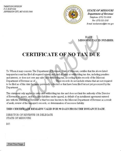 tax due tutorial