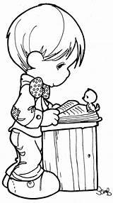 Colorear Dibujos Imprimir Dibujo Ni Pz Nino Coloring Libro Infantil Biblia Disney sketch template