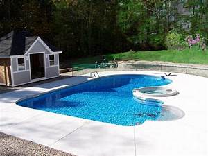 Backyard landscaping ideas swimming pool design for Inground swimming pool designs ideas