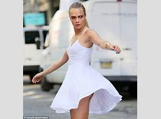 Cara Delevingne offers a glimpse of her skimpy underwear