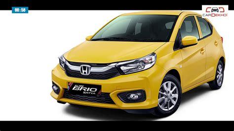 New Honda Brio by New Honda Brio 2019 Specs Features Price And More
