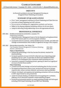 9 how to write a resume for management position