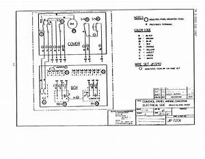 Marine Electrical Control Panel Wiring Diagram