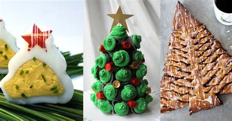 best christmas tree shaped food items for party season