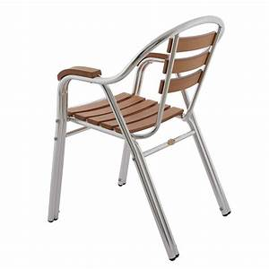 Chaise Terrasse Restaurant : chaise de terrasse de restaurant fauteuil de terrasse chaise bistrot en alu rotin design ~ Teatrodelosmanantiales.com Idées de Décoration