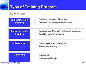Hr management for Job rotation program template