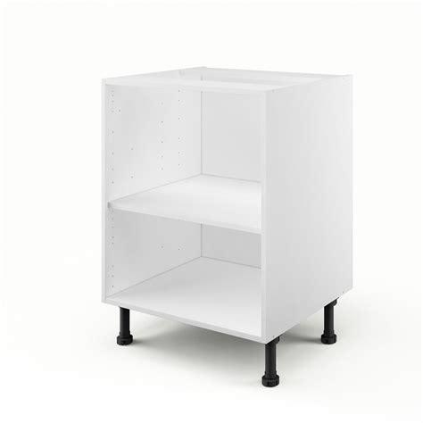 caisson de cuisine bas b60 delinia blanc l 60 x h 85 x p