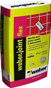 Joint Pour Carrelage : mortier pour joints de carrelage weber joint flex weber ~ Melissatoandfro.com Idées de Décoration