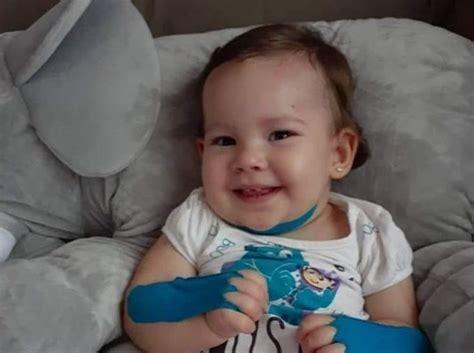 Família de bebê com síndrome rara faz campanha para ...