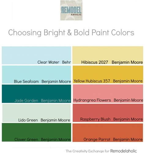 remodelaholic tips for using and choosing bold and