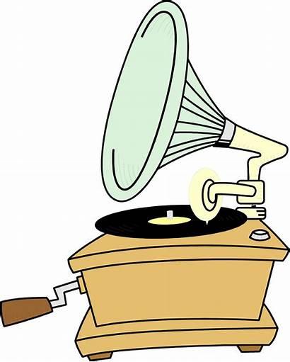 Record Player Clipart Phonograph Clip Antique Vinyl